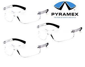 schutzbrille arbeitsschutzbrille mit sehst rke pyramex ztek readers ce en166 ebay. Black Bedroom Furniture Sets. Home Design Ideas
