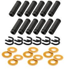 """12 LOT 1"""" Tattoo Machine Coil 5/16"""" Core Kit Set YELLOW Phenolic Washers Cores"""