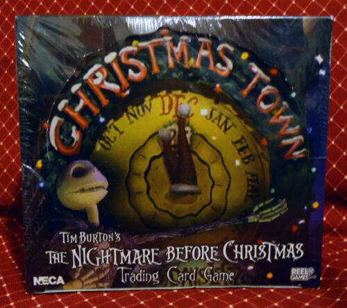 New Box The Nightmare Before Christmas Trading Card Game Expansion Set