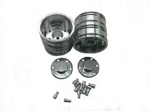 Aluminum-metal-Rear-Wheels-hub-for-Tamiya-1-14-Tractor-Truck-Rc-Car-Silver-1pair