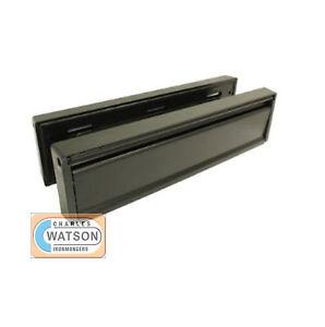 10-034-Anti-Vandal-UPVC-Door-Letter-Plate-Letter-Box-BLACK
