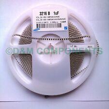 5x  1uF 25V 1206 Multilayer Chip Capacitor SMD/SMT