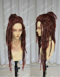NEW DRAMAtical Murder / Minke /Black Dreadlocks /Cosplay/ Wig Color:Dark Brown
