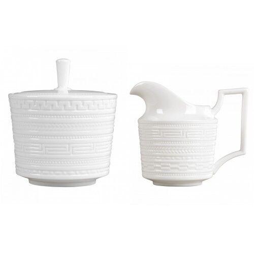 Wedgwood intaglio sucrier et pot à lait set 2 pièce NEUF avec étiquettes
