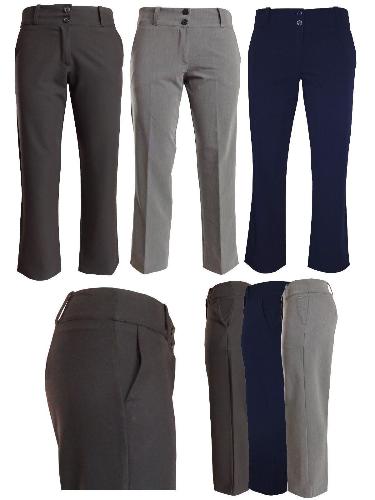 Pantaloni per Ragazze da Scuola women Lavgold D'Ufficio Eleganti Formali