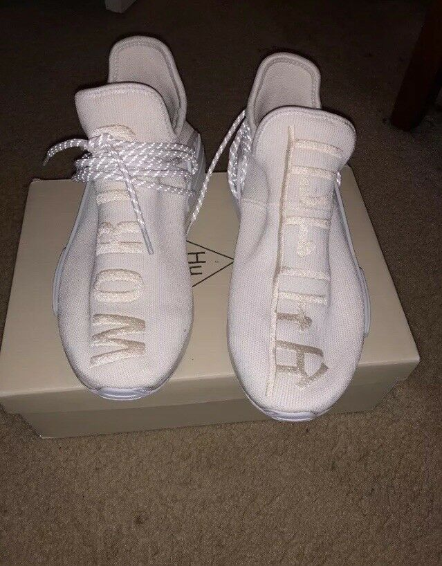 Adidas Pharrell Williams Hu Holi Human Race NMD Blank Canvas Comfortable