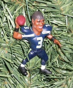 Seahawks Christmas Tree.Details About Russell Wilson Seattle Seahawks Christmas Tree Ornament Nfl Football Figure