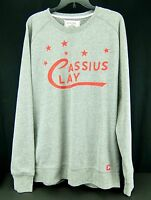 Under Armour Cassius Clay Sweatshirt Gray Mohamed Ali Roots Of Boxing Mens L Xl
