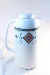 Vintage-Studio-Nova-ADIRONDACK-Carafe-Plastic-Thermos-Insulated-Coffee-Tea-Hot