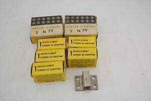 Lot-De-10-Allen-Bradley-N79-Relais-de-Surcharge-Thermique-Element-de-Chauffage