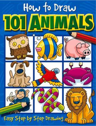 How to Draw 101 Animals, Dan Green, Used; Good Book