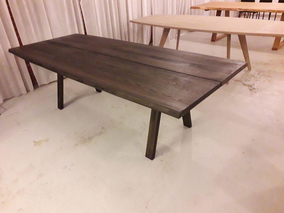 Plankebord Rustik sort olieret