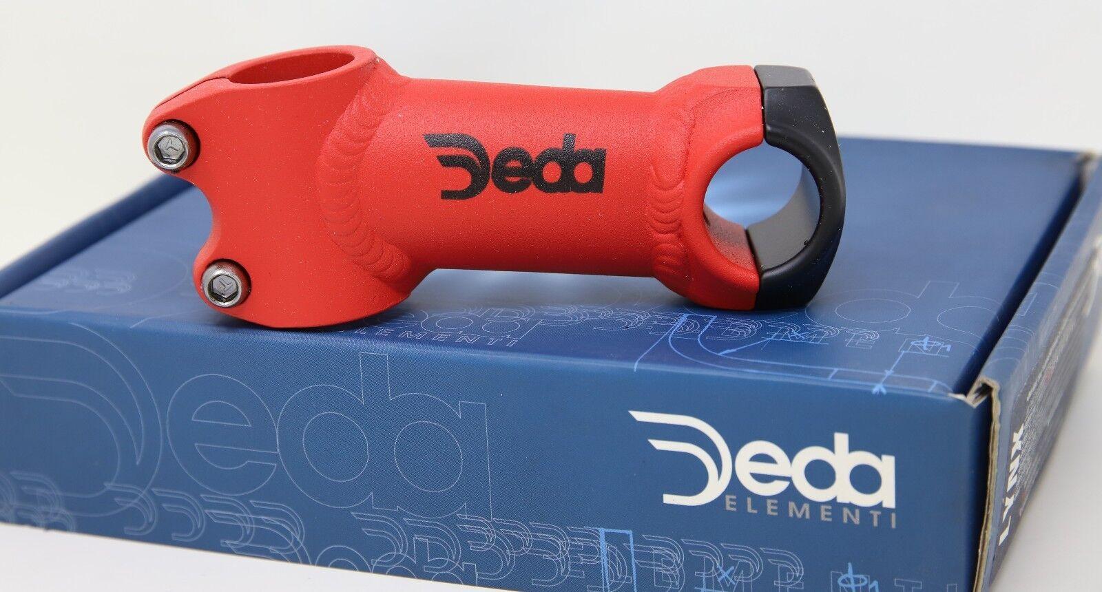 DEDA ELEMENTI LYNX AHEAD A-head Vástago - 90MM 1  Pinza 26-Rojo-nuevo viejo Stock nuevo en caja