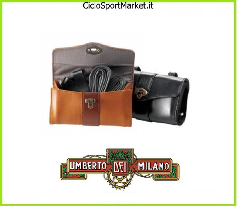 BAG Saddle ORIGINAL  UMBERTO DEI  original bike Vintage - R - Imperiale