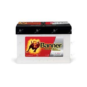 Batterie voiture Banner Power Bull Pro P8440 12V 84AH 720A 315X175X190