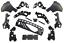 Fuer-Mercedes-Benz-E-Klasse-W213-E63-Amg-Look-Stossstange-Diffusor-Diffuser-01 Indexbild 7