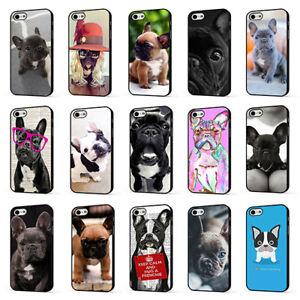 Dettagli su Bulldog Francese Carino Cucciolo Frenchie Telefono Case Cover per iPHONE 4 5 6 7 8 X- mostra il titolo originale