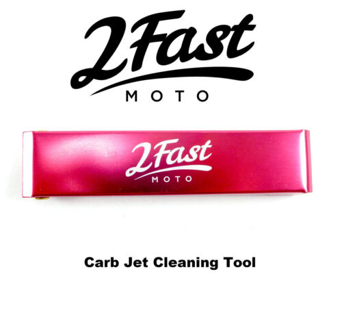 2FastMoto Carb Jet Cleaning Tool Yamaha Carburetor Jets Wire Cleaner Set