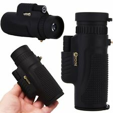 UK NEW PANDA 8x42 Zoom Lens Travel HD Optical Monocular Telescope Pocket-Size