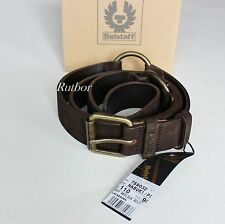 ✔ Belstaff Uomo Cintura 1007 replica BELT 759032 tg. 110 VERA PELLE BLACKBROWN