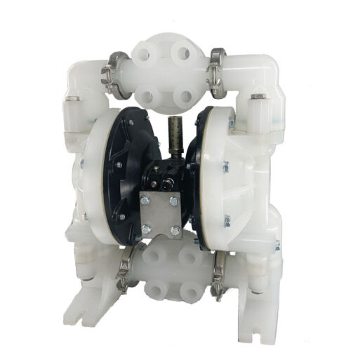 "Air-Operated Double Diaphragm Pump 1/"" Inlet Outlet Petroleum Fluid 72GPM 120PSI"