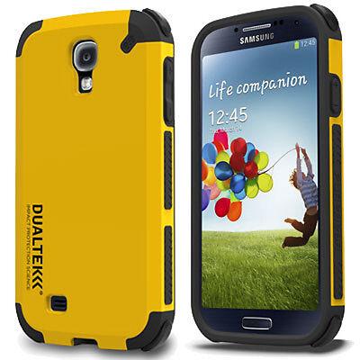PureGear DualTek Extreme Shock Hard Case Shield For Samsung Galaxy S 4 IV Yellow