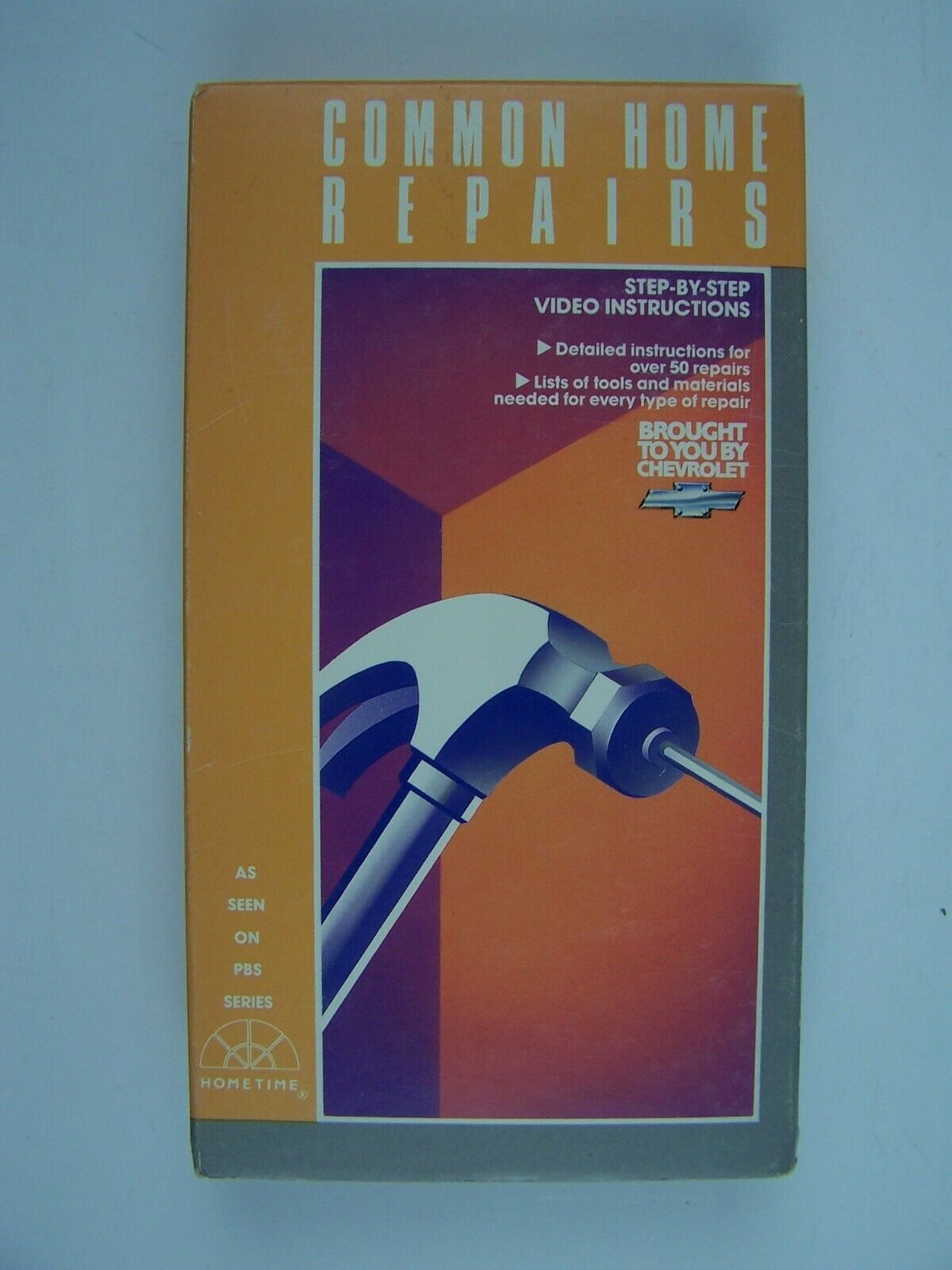 Common Home Repairs VHS Video