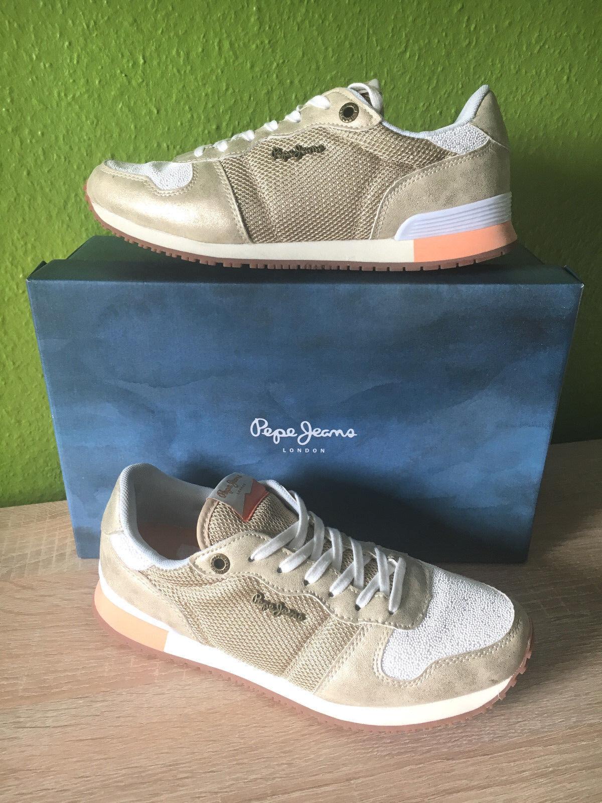 Pepe Jeans London GABLE GOLD - - Damen Schuhe Sneaker - GOLD PLS30327 apart - sportlich 05569c