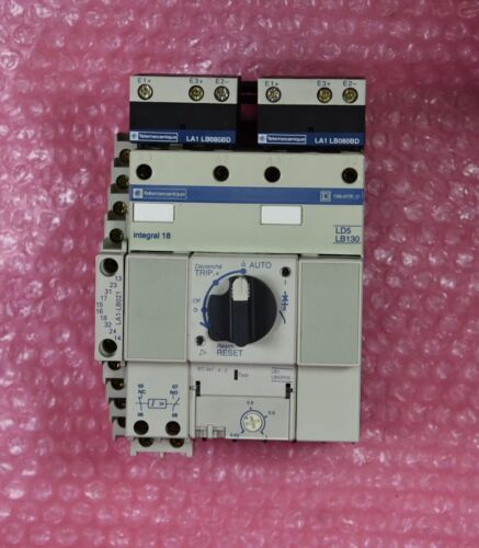 TELEMECANIQUE 24 V MOTOR STARTER type hilfsschalter la1-lb021 ld5 lb130 Incl