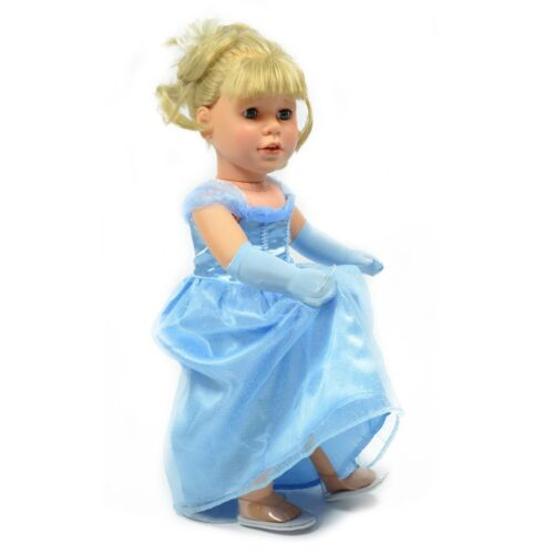 Cinderella Inspired Glass Shoes for 18 Inch Doll Fits For  American Girl Doll