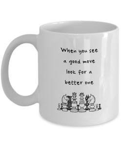 11 Oz Chess Coffee Mug