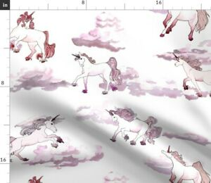 Pegasus-Fantasy-Pink-Unicorn-Whimsical-Girls-Fabric-Printed-by-Spoonflower-BTY