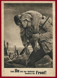 GERMAN Third Reich General Government postcard 1943