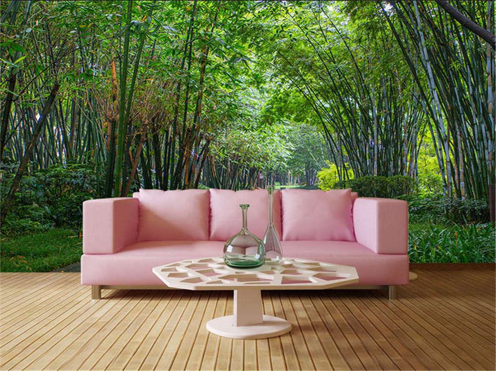Grün Tree Garland 3D Full Wall Mural Photo Wallpaper Printing Home Kids Decor