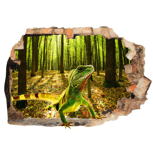 M011 Lizard Reptile Bedroom Animal Wall Stickers Bedroom Girls Boys Kids Room