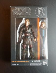 "Star Wars Authentic Black Series 6/"" Archive Anakin Skywalker Loose complet"