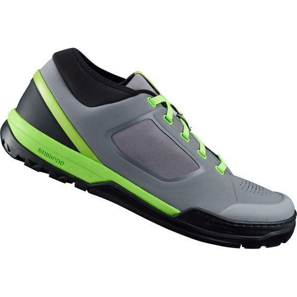 Shimano GR7 (GR700) Pedal MTB Zapatos Planos, gris verde Talla 38