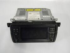 #M13564 BMW 316TI COMPACT E46 2001 RADIO AUDIO SAT NAV DISPLAY UNIT 6934410