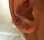 thumbnail 20 - BRAND NEW EAR PIERCING STUDS EARRINGS STUD STERILE STUD GOLD SILVER CERTIFIED