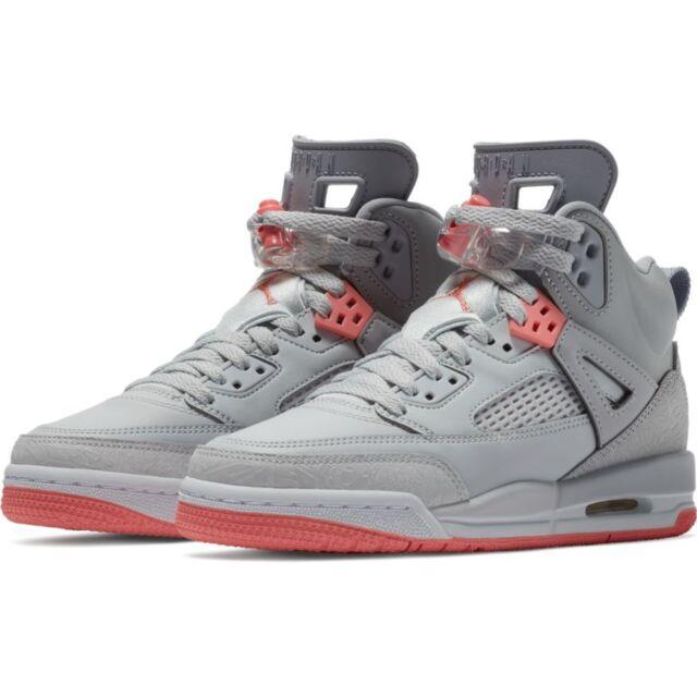 3fcc75eaa102 Kids Air Jordan Spizike GS Wolf Grey Sunblush Pure Platinum 535712 ...