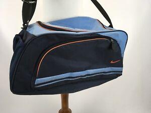 11 Deportes Azul De Gimnasio X Nike Duffel Naranja Bolsa Nylon 20 SzVUMp