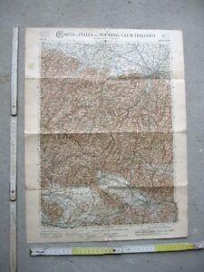 Bologna Cartina Geografica.Vecchia Stampa Mappa Carta Geografica Bologna Pistoia Firenze Lucca Ebay
