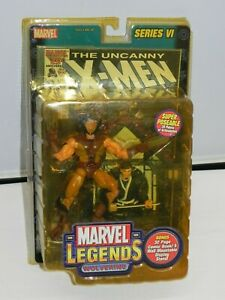 Marvel-Legends-Wolverine-Series-6-VI-Action-Figure-New-Comic-2004-X-Men-ToyBiz