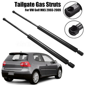 2x-Rear-Tailgate-Boot-Trunk-Gas-Struts-For-VW-Golf-V-MK-5-2003-2009