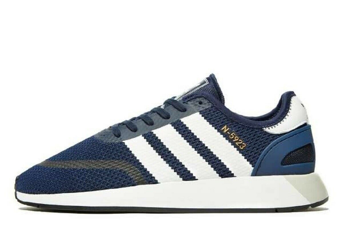 Latest Adidas Originals N-5923,Men's Trainers (UK 9.5 & 10.5)-bluee-Brand New