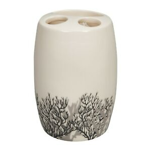 Details about Ceramic Toothbrush Holder Bathroom Accessory Gift