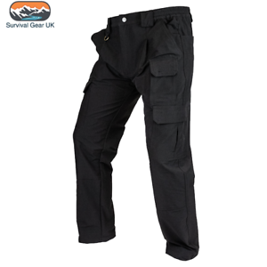 VIPER TACTICAL STRETCH TROUSERS PANTS ARMY AIRSOFT WORKWEAR BLACK