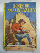 BONES OF AMAZING VALLEY by CHESTER WILLS 1956