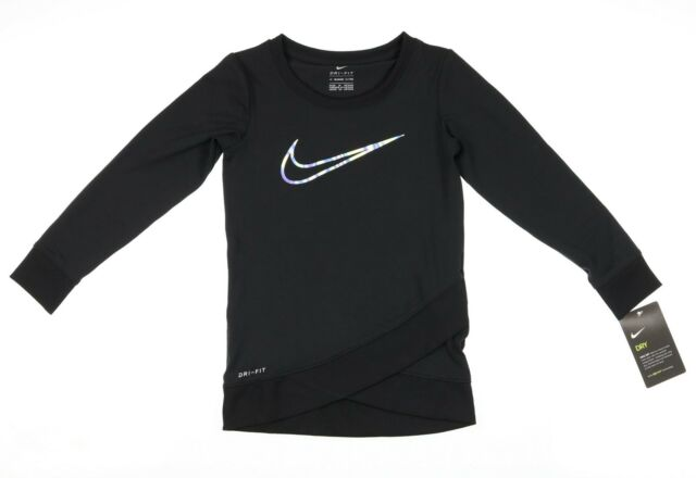 716043db18 NIKE Kids Dri-Fit Sport Essentials Crossover Tunic (Toddler) Girl's : 4T  Toddler