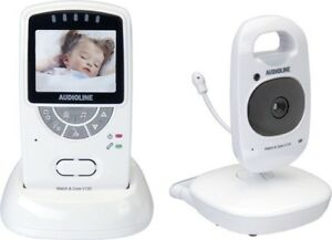 Audioline-V-130-902735-Video-Babyphone-Babyfon-Nachtlicht-Sicherheit
